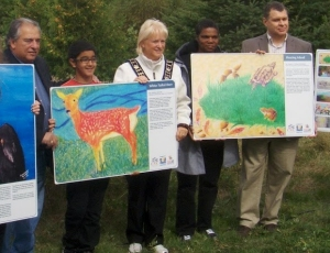Visual Arts Brampton at the Credit Valley Conservation Area