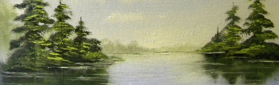 Landscape Painting in Oils