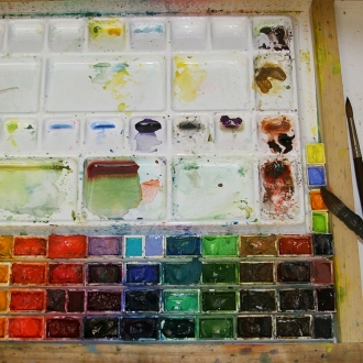 Watercolour Workshops with Zan Barrage