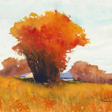 Themes in Watercolour - Fall